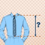 Какая должна быть длина галстука