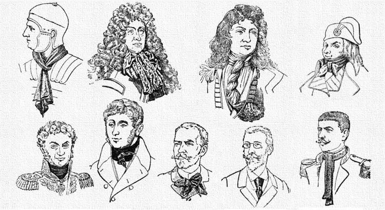 История возникновения галстука