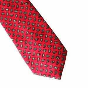 Винтажный галстук 60-х