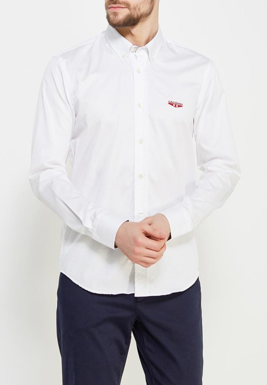 Рубашка прямого кроя Galvanni