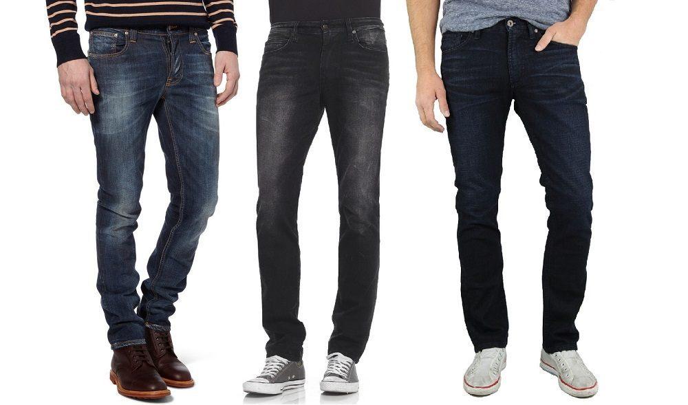 Гардероб стильного мужчины, джинсы