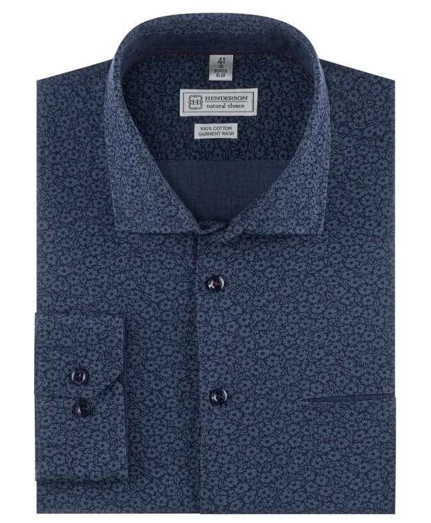 Рубашка с узором в стиле smart casual от Henderson