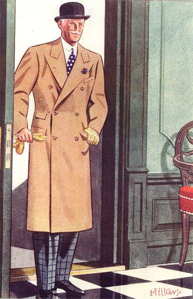 Как должно сидеть мужское пальто