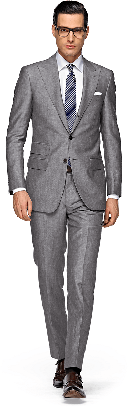 Как подобрать туфли к костюму, светло-серый костюм