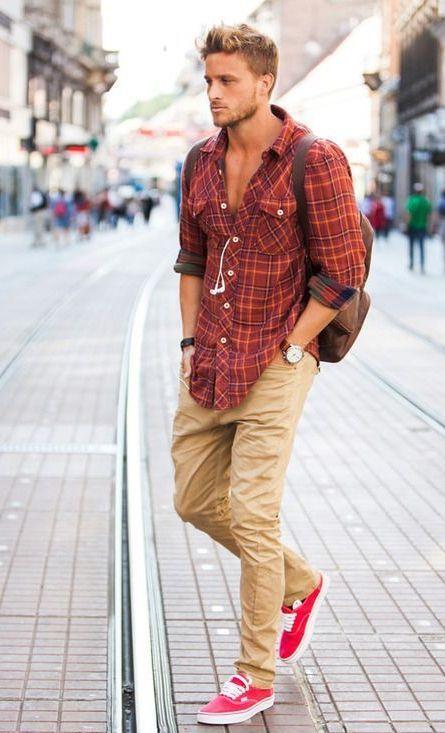 Как правильно сочетать цвета в одежде, casual стиль