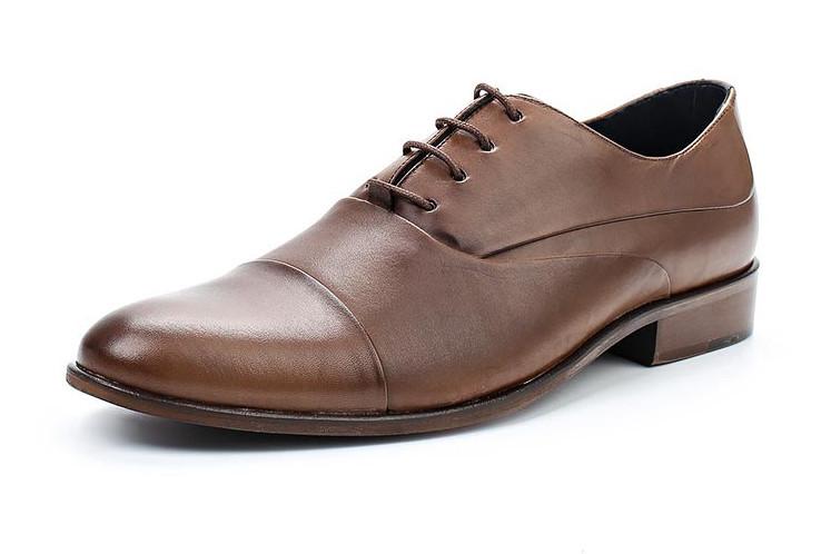 Туфли коричневые Wojas