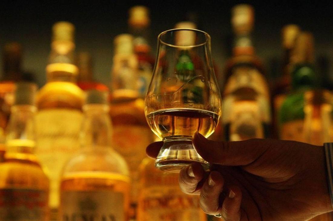 Как пить виски, процесс дигустации