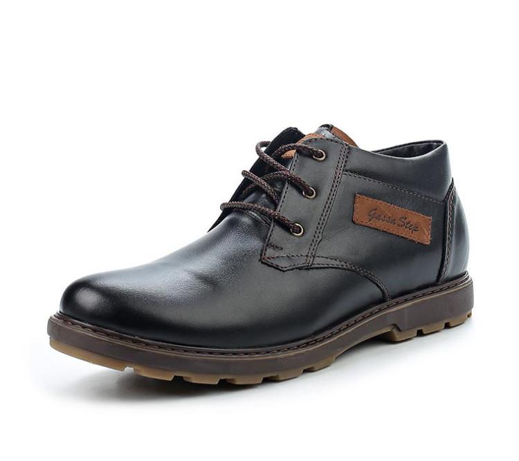Зимние ботинки из натуральной кожи Gassa