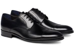 Черные туфли дерби