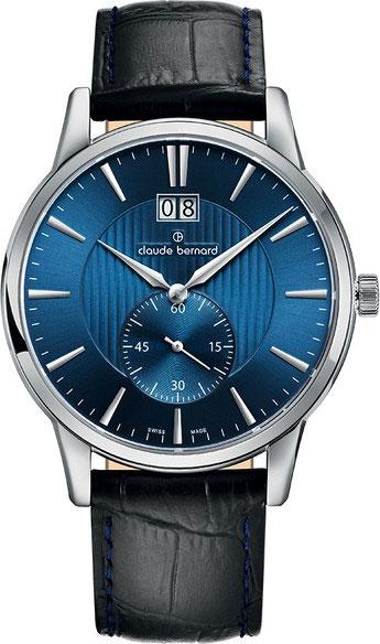 Мужские швейцарские наручные часы Claude Bernard 64005-3BUIN