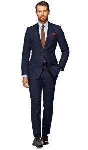 Suitsupply_темно-синий классический костюм