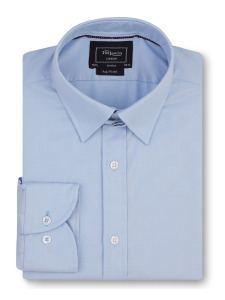 T.M.Lewin_голубая классическая рубашка