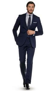 T.M.Lewin_темно-синий классический костюм