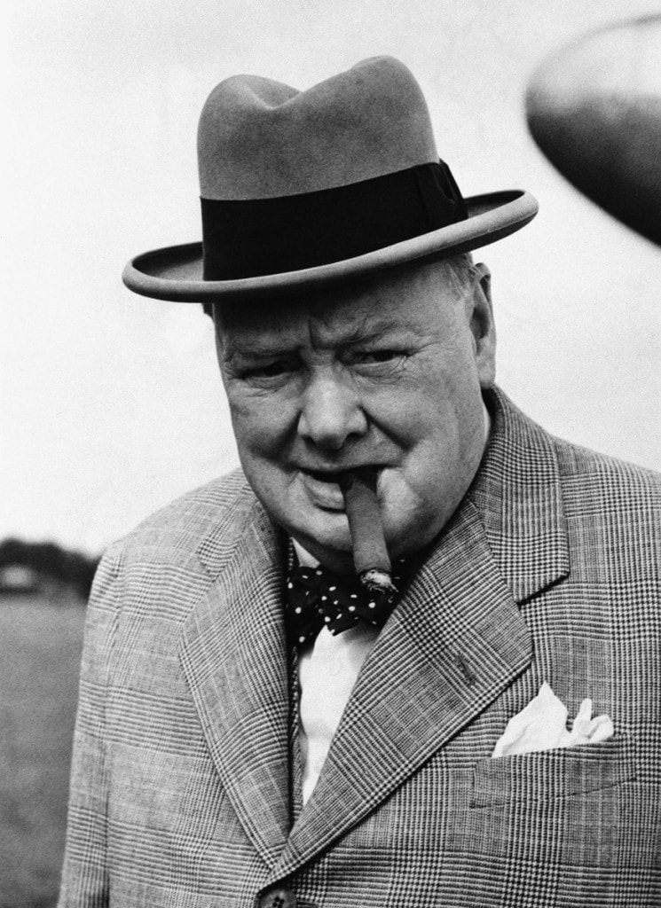 Уинстон Черчилль - стиль эпохи