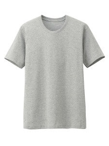 Uniqlo_серая футболка