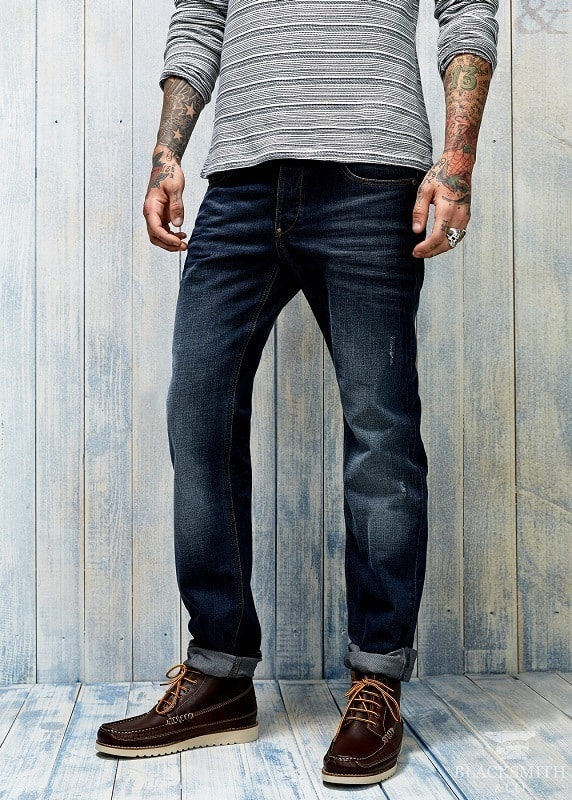 Casual джинсы selvedge denim