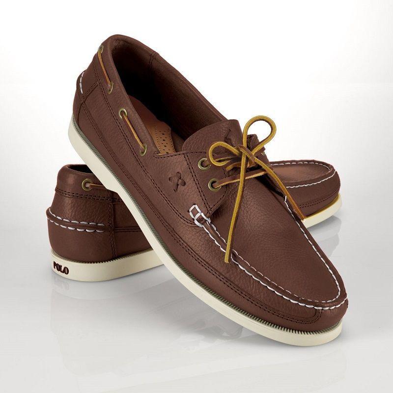 Casual обувь топ-сайдеры коричневого цвета