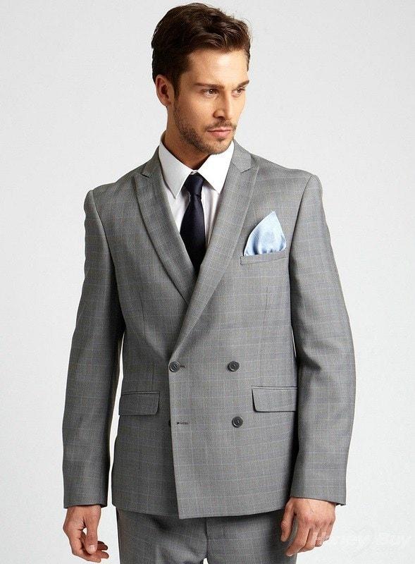 Как застегивать двубортный пиджак