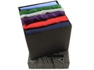 Набор шёлковых нагрудных платков
