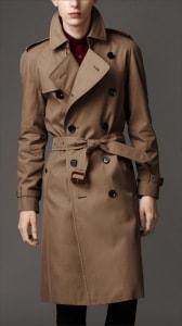 Пальто тренч от Burberry