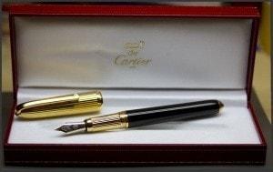 Перьевая ручка cartier