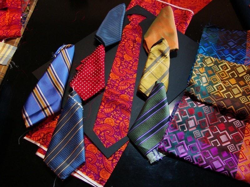 Ткань галстука