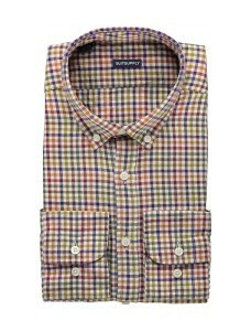 Casual рубашка с воротником на пуговицах