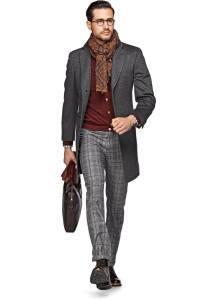 Шерстяное классическое пальто
