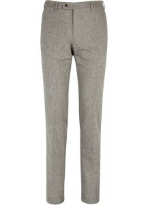 Шерстяные брюки серого цвета