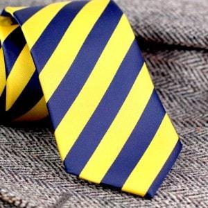 Смелые полосатые галстуки