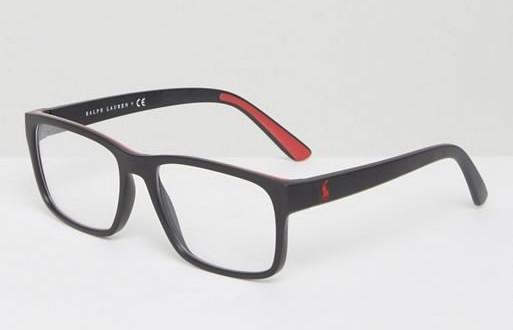 Очки в квадратной оправе Polo Ralph Lauren