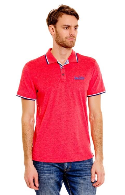 Поло красного цвета от Tom Tailor