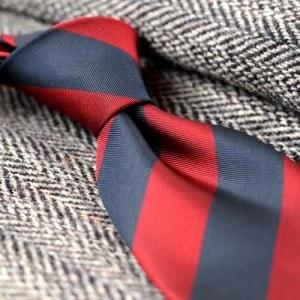 Репп-страйп или галстуки в полоску
