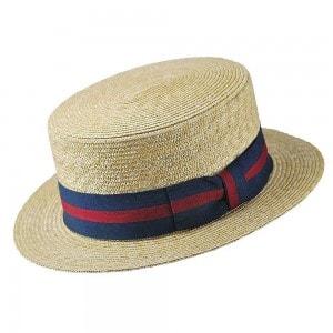 Мужская шляпа Канотье