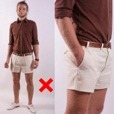 короткие шорты мужские фото