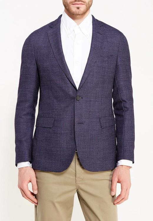 Легкий пиджак из шерсти Boss Hugo Boss