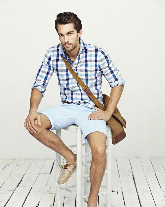 Casual стиль летней рубашки