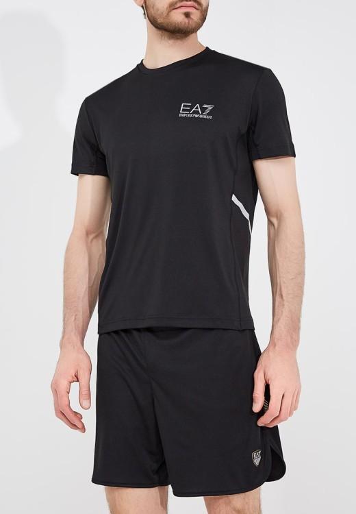 Спортивная футболка из полиэстера EA7