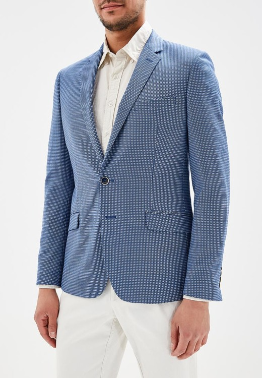 Легкий пиджак из шерсти Bazioni