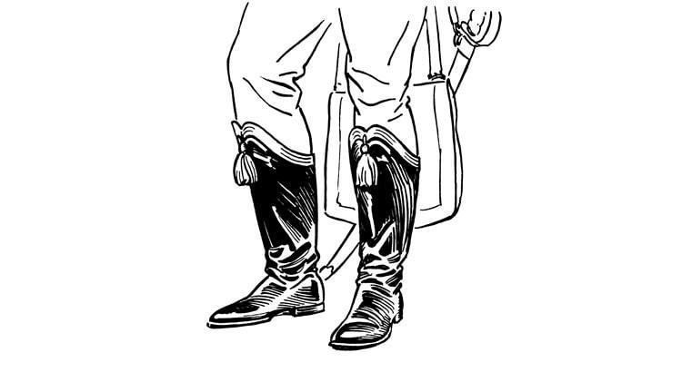 Ботфорты Hessian boots