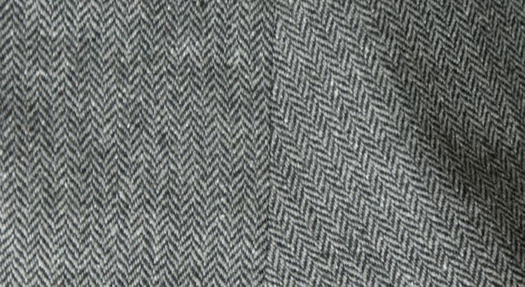 Херрингбоун или ткань в ёлочку