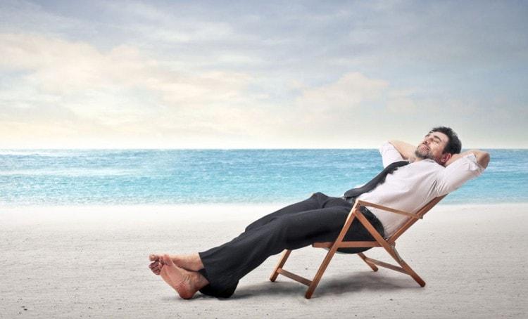 Отдыхайте и раслабляйтесь, чтобы не выпадали волосы и росла борода