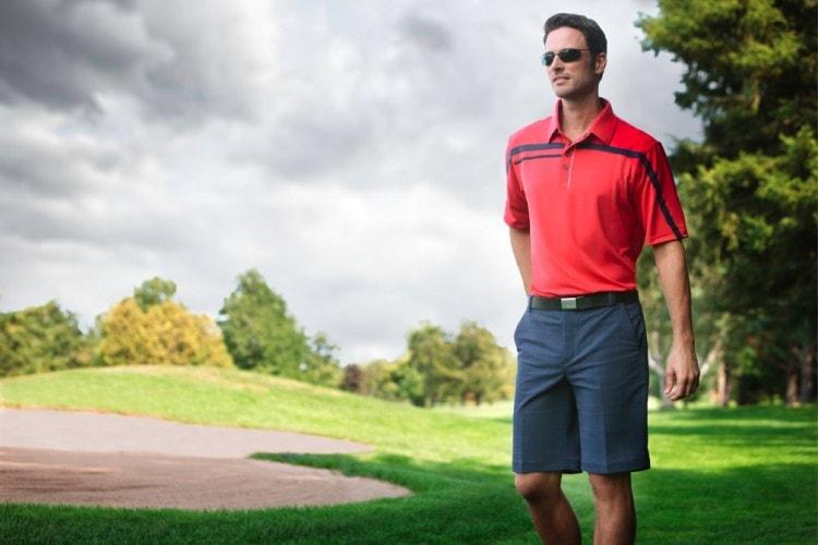 Шорты для игры в гольф