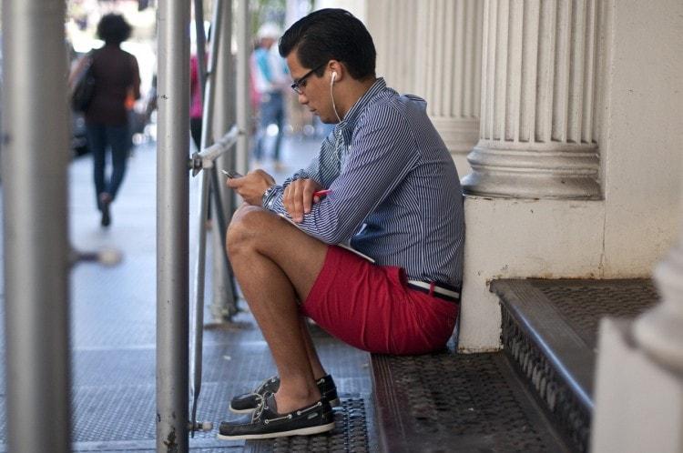 Топ-сайдеры очень практичная и удобная обувь, отлично подходящая для лета