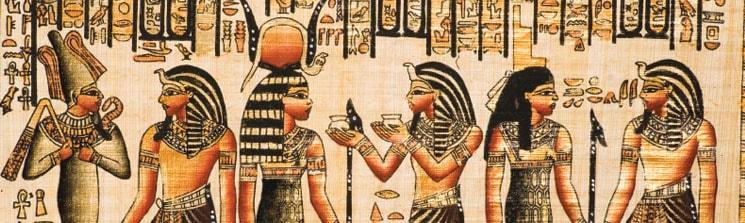 Упоминания о пиве были на фресках в Египте