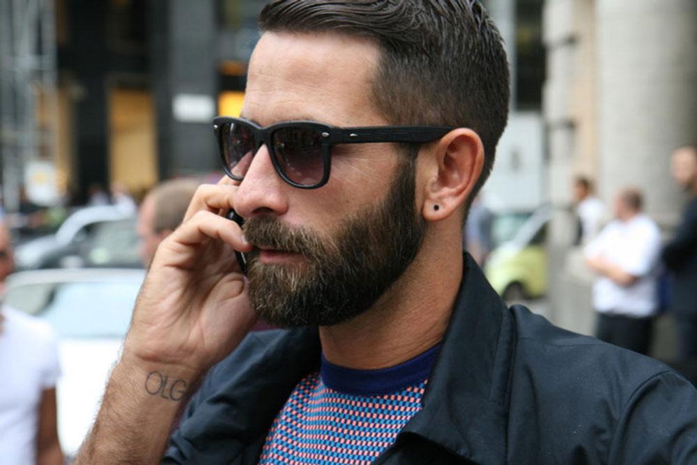 Как сделать бороду и усы фото 788
