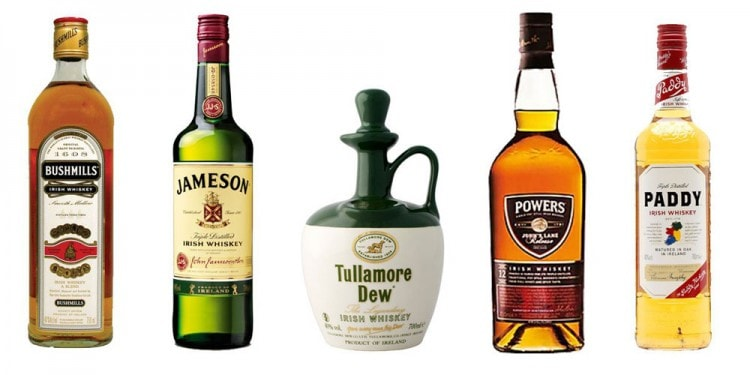 Разновидности ирландского виски