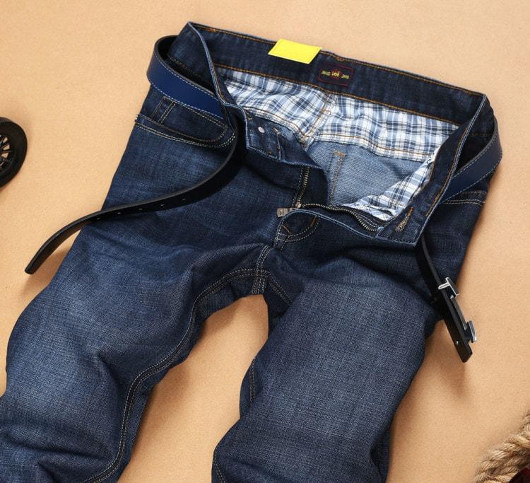 Чтобы не замерзнуть, покупайте джинсы из тяжелой и толстой ткани