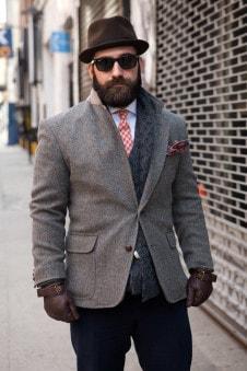 шапка и пальто мужское фото