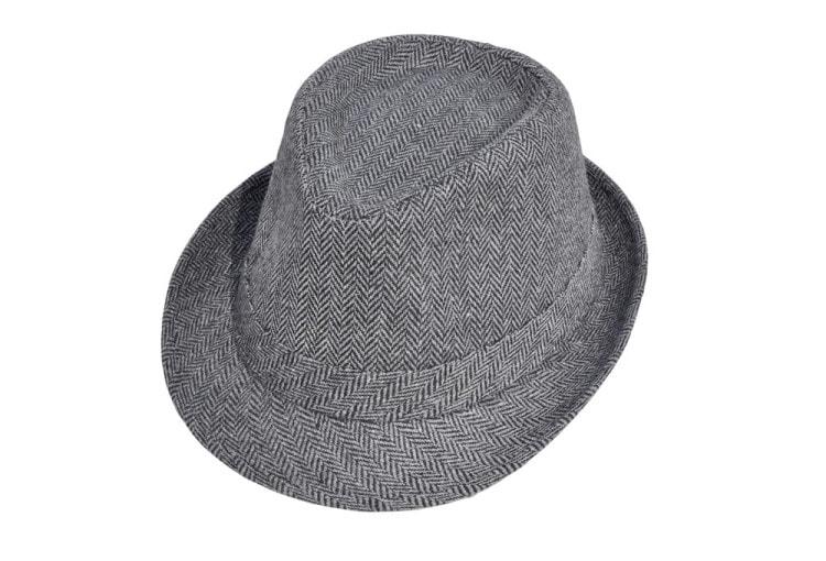 Зимняя шляпа Федора из шерсти